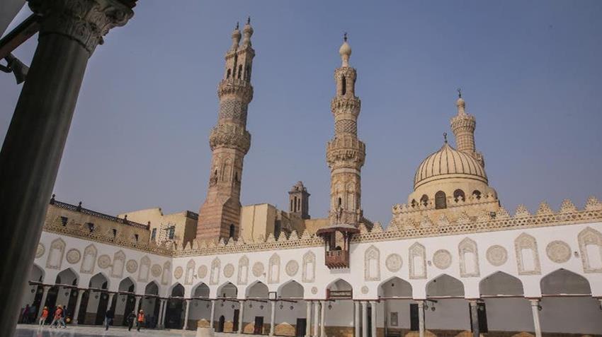 ترميم الجامع الأزهر الشريف