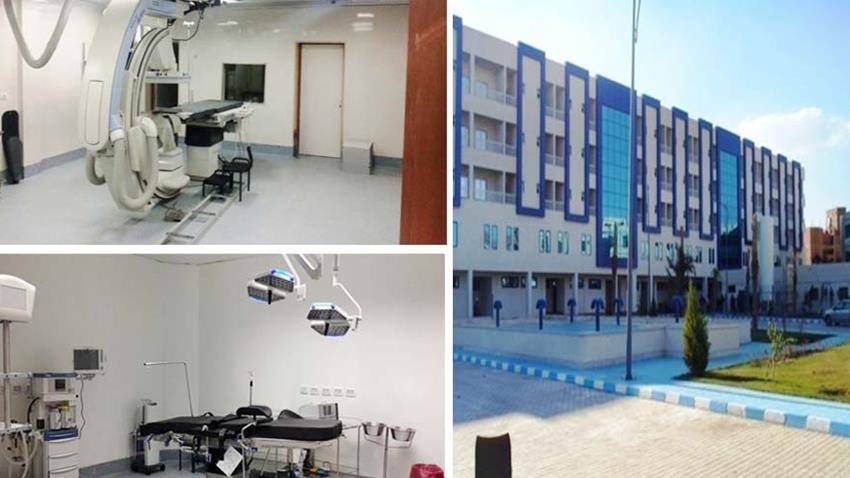 رفع كفاءة مستشفى بني سويف العام