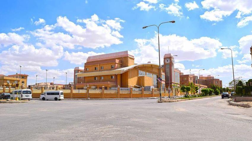 مدينة العبور الجديدة على طريق القاهرة الإسماعيلية