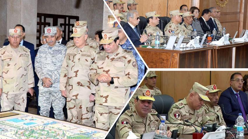مقر قيادة قوات شرق القناة لمكافحة الإرهاب