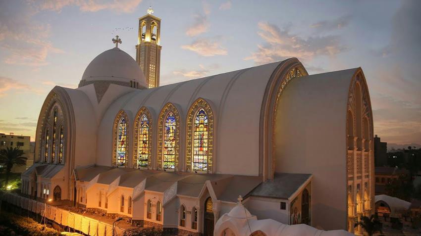 ترميم الكاتدرائية المرقسية بالعباسية