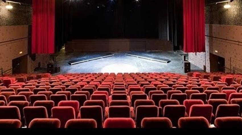 المرحلة الأولى من إنشاء مسرح مصر بالقاهرة