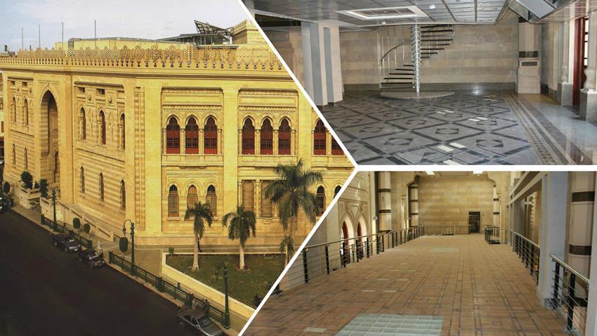 تطوير مبنى دار الكتب بالقاهرة