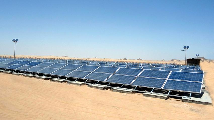 تشغيل الآبار بالطاقة الشمسية