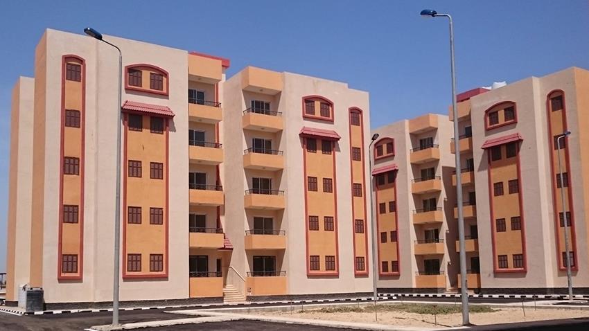 المرحلة الثانية من الإسكان الاجتماعي بمحافظة شمال سيناء