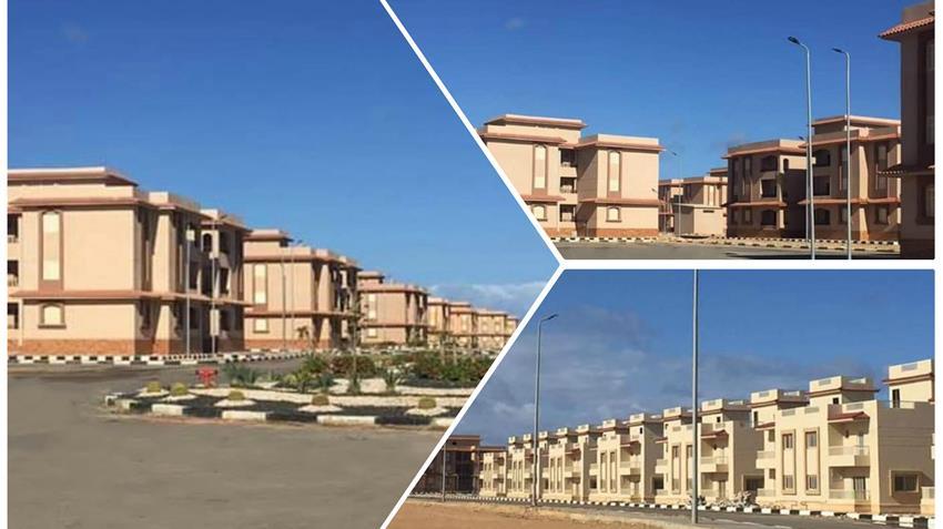 المدينة السكنية بالضبعة بمحافظة مطروح