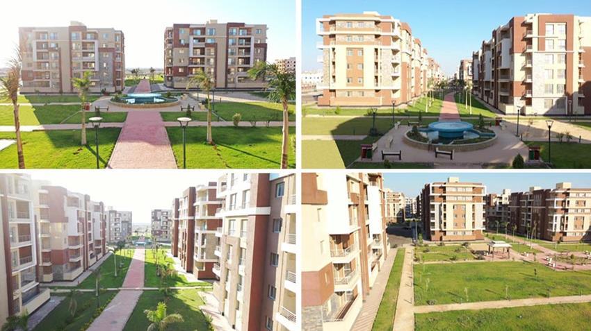الإسكان المتوسط دار مصر بمدينة السادات بمحافظة المنوفية