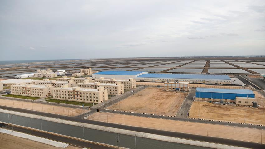 مركز الأبحاث والتطوير بمشروع الاستزراع السمكي المتكامل (غليون) بمحافظة كفر الشيخ