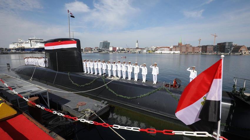 تدشين الغواصة S-٤٣ من طراز ٢٠٩  - ١٤٠٠