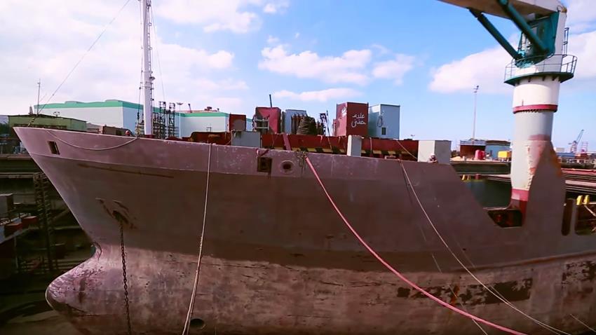 تصنيع وحدات بحرية محلية الصنع بقاعدة الإسكندرية البحرية