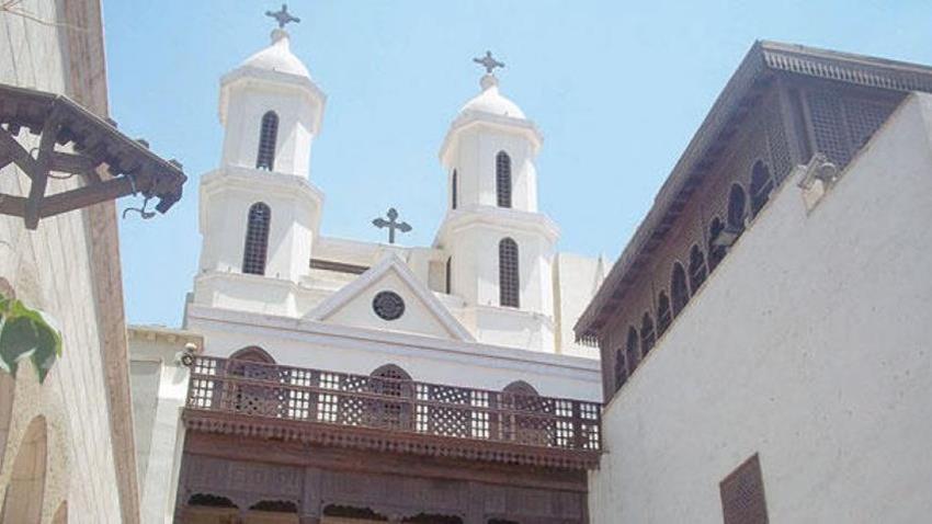 ترميم الكنيسة المعلقة الآثرية بالقاهرة