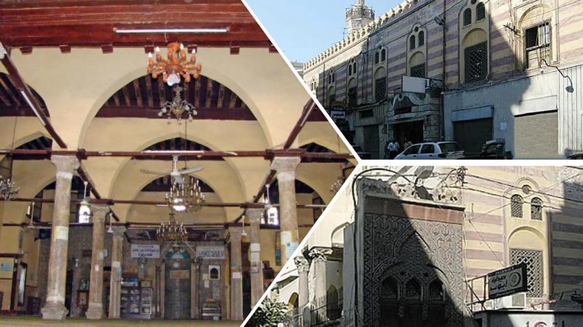 ترميم مسجد تربانة بالإسكندرية