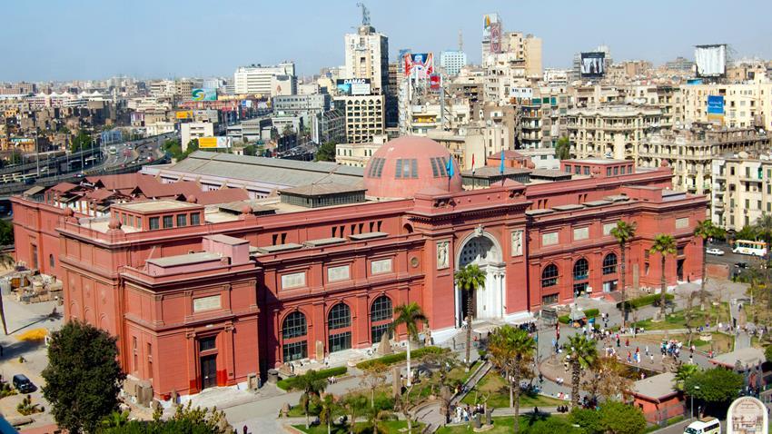 المرحلة الأولى من تطوير المتحف المصري بالتحرير