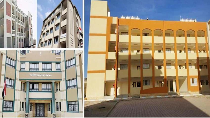إنشاء وتطوير 229مدرسة بمختلف المراحل التعليمية بمحافظة المنوفية