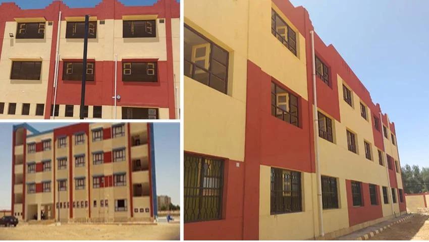 إنشاء وتطوير 35مدرسة بمختلف المراحل التعليمية بمحافظة الوادي الجديد