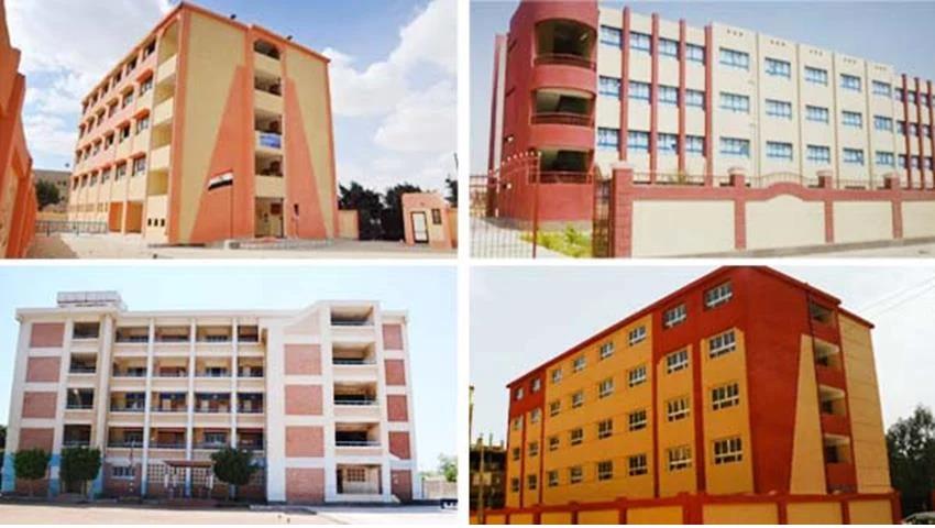إنشاء وتطوير 247 مدرسة بمختلف المراحل التعليمية بمحافظة الغربية