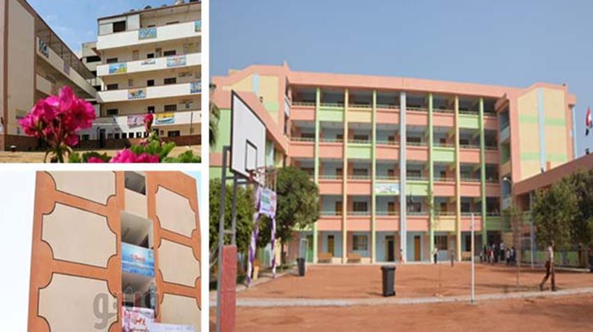 إنشاء وتطوير 296 مدرسة بمختلف المراحل التعليمية بمحافظة سوهاج