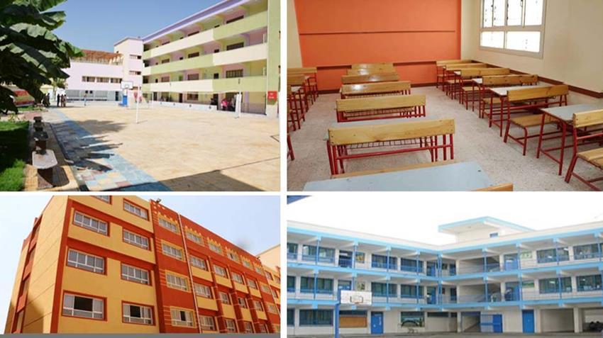 إنشاء وتطوير 147 مدرسة بمختلف المراحل التعليمية بمحافظة القاهرة