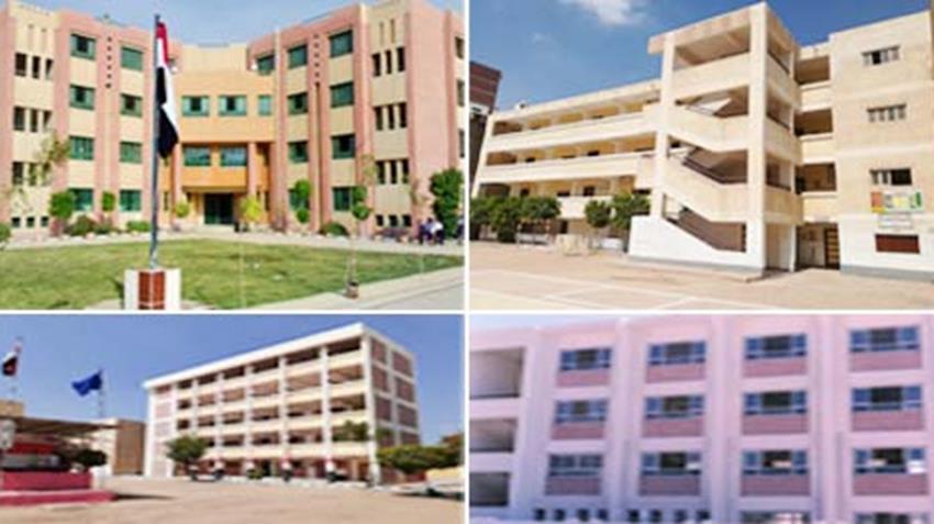 إنشاء وتطوير 302 مدرسة بمختلف المراحل التعليمية بمحافظة البحيرة