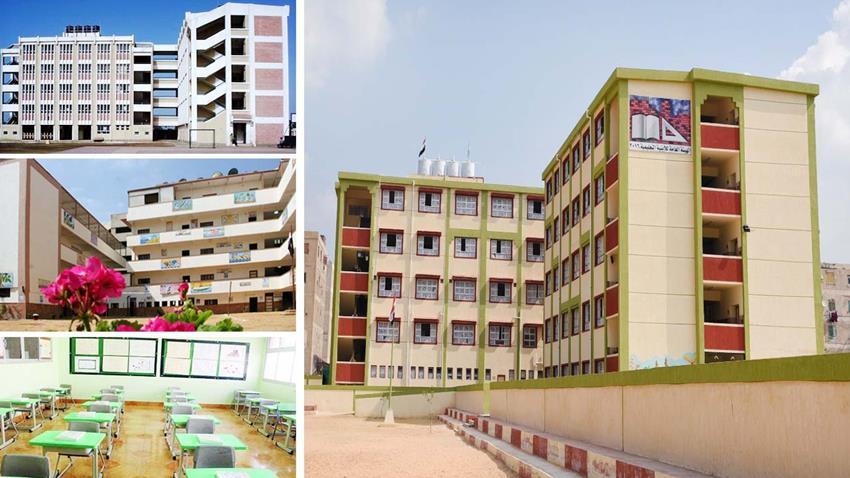 إنشاء وتطوير 122 مدرسة بمختلف المراحل التعليمية بمحافظة الإسكندرية