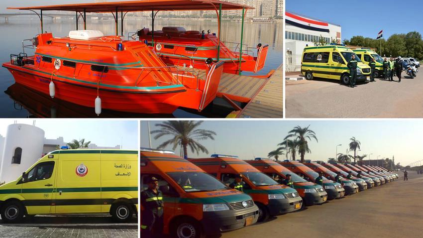 إنشاء 19 وحدة إسعاف جديدة ببعض المحافظات