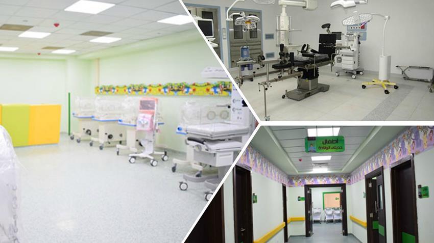 تطوير مستشفي إيزيس التخصصي بمحافظة الأقصر