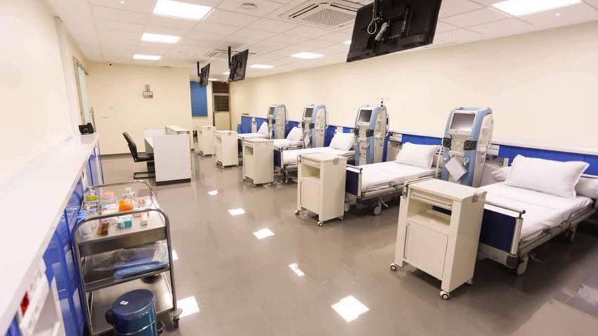 إنشاء مركز جراحات الكلي بمستشفي الإسماعيلية العام