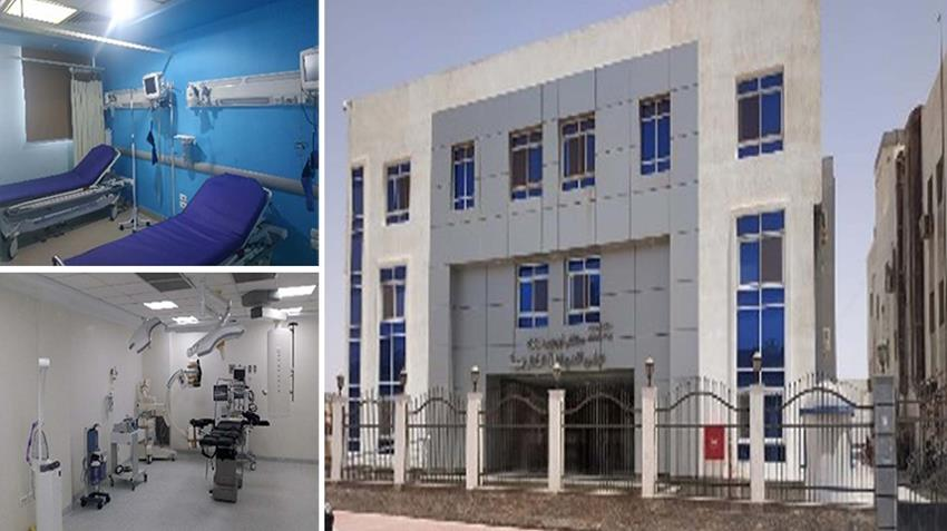 تطوير مستشفي أبورديس المركزي بمحافظة جنوب سيناء