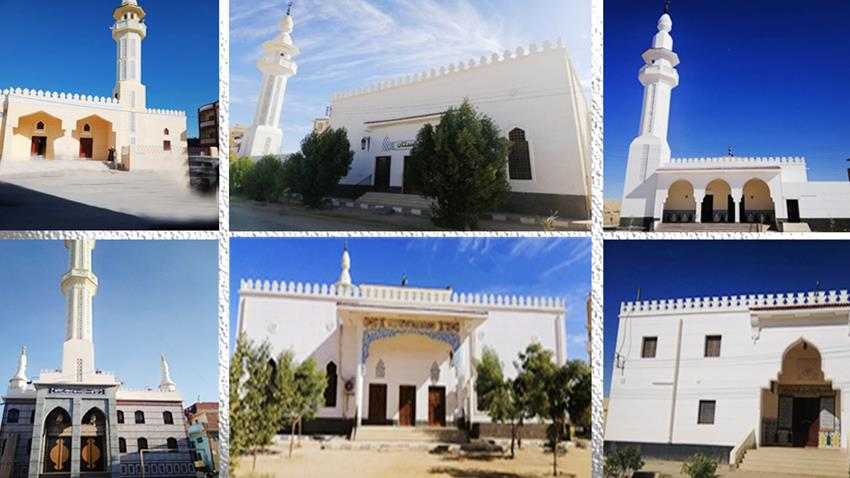 ترميم وتجديد 3601 مسجد
