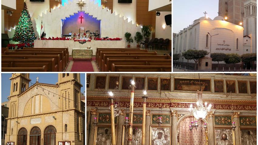 تقنين وتوفيق أوضاع 1638 كنيسة ومبني بمختلف المحافظات