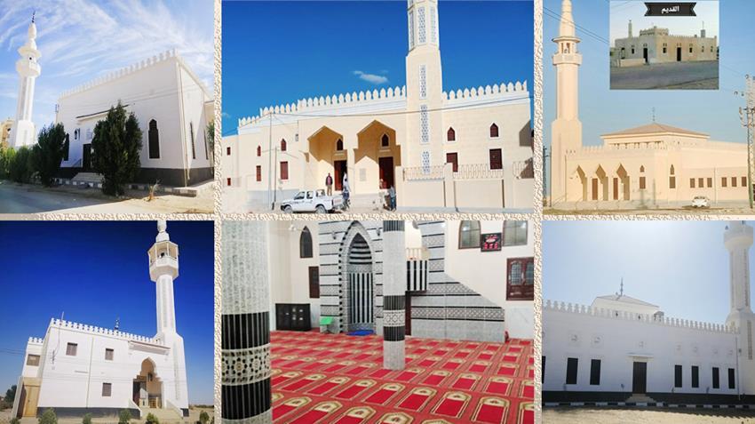 استكمال فرش 7553 مسجدا