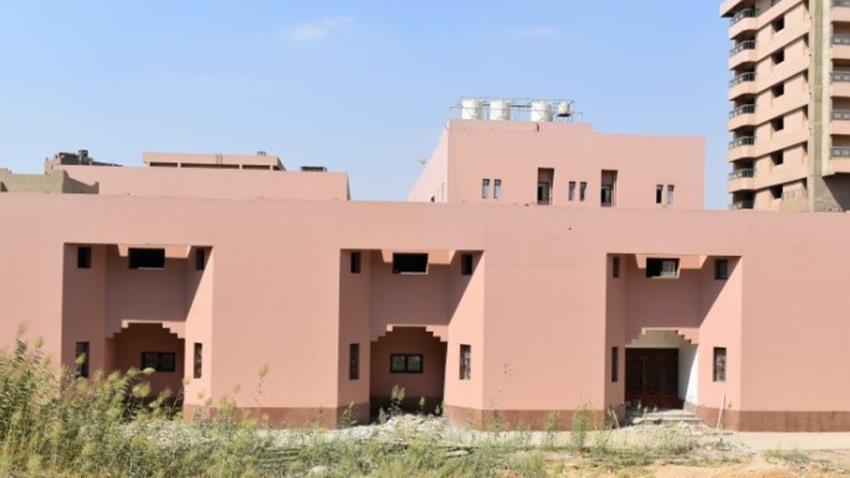 إنشاء متحف المعهد العالي للفنون الشعبية بالجيزة