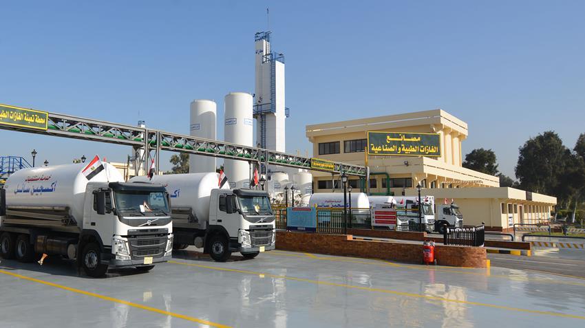 إنشاء مصنع الغازات الطبية والصناعية بأبو رواش بالجيزة