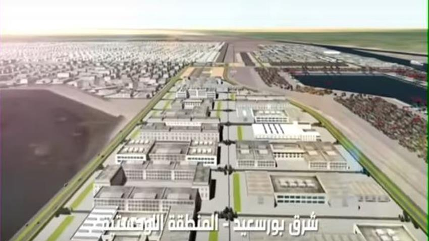 جاري تنفيذ المناطق اللوجستية بشرق بورسعيد