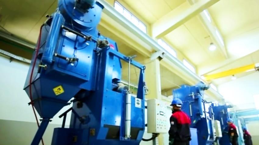 إنشاء مصنع تشغيل الأجزاء المعدنية للذخائر المتوسطة