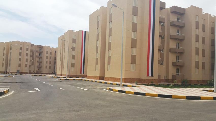 الاسكان الاجتماعي بمدينة الغردقة بمحافظة البحر الأحمر