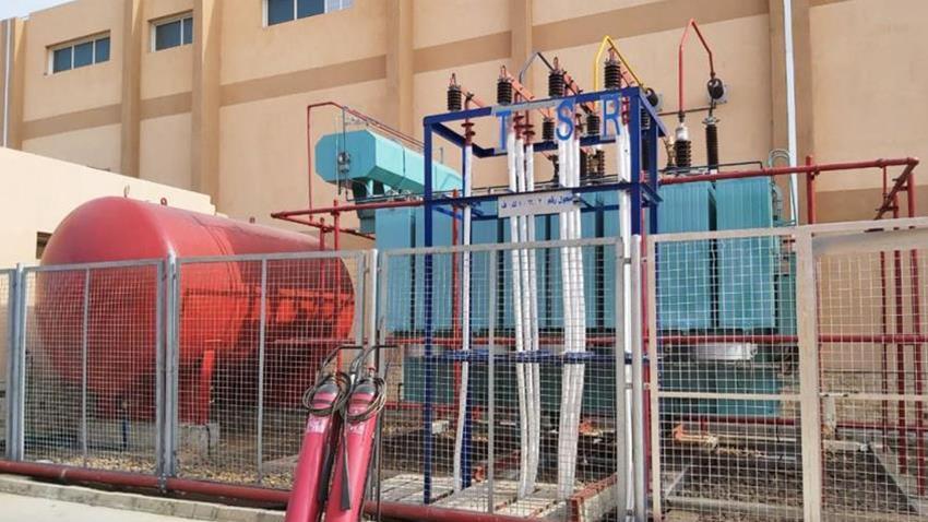 إنشاء محطة محولات مشتول السوق الدائمة بمحافظة الشرقية