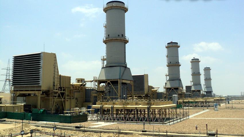 محطة كهرباء غرب دمياط