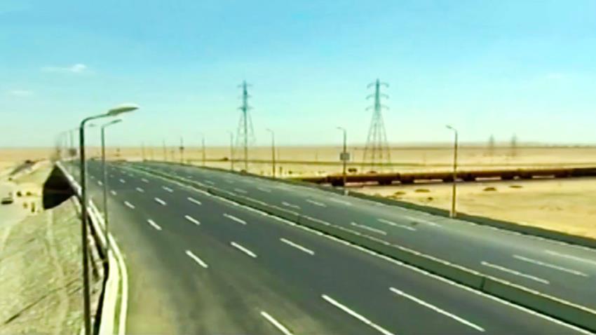 إنشاء كوبري مزلقان الطريق الغربي