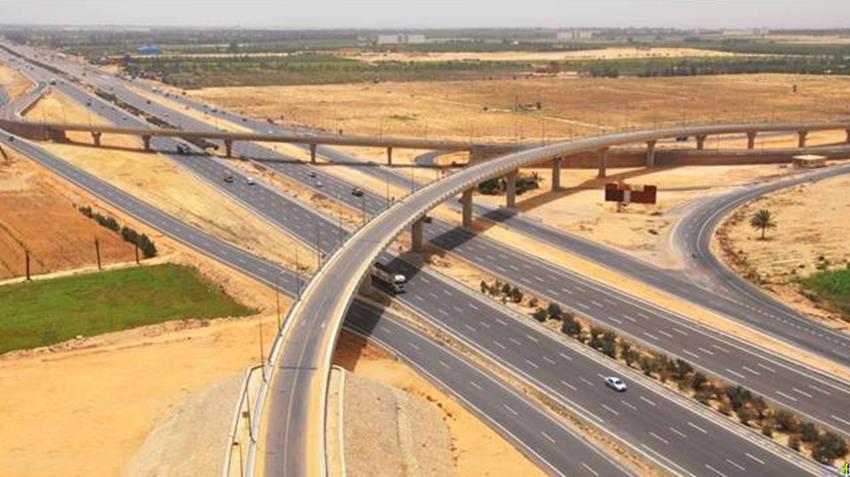 تطوير وتوسعة طريق القاهرة - الإسكندرية الصحراوي