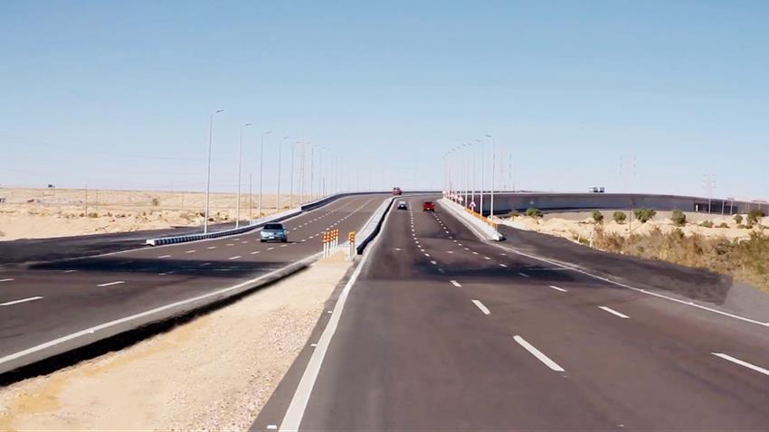 رفع كفاءة طريق الإسكندرية -مطروح الساحلي