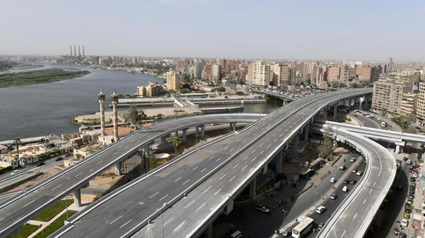 إنشاء كوبري تقاطع محور تحيا مصر مع الطريق الدائري
