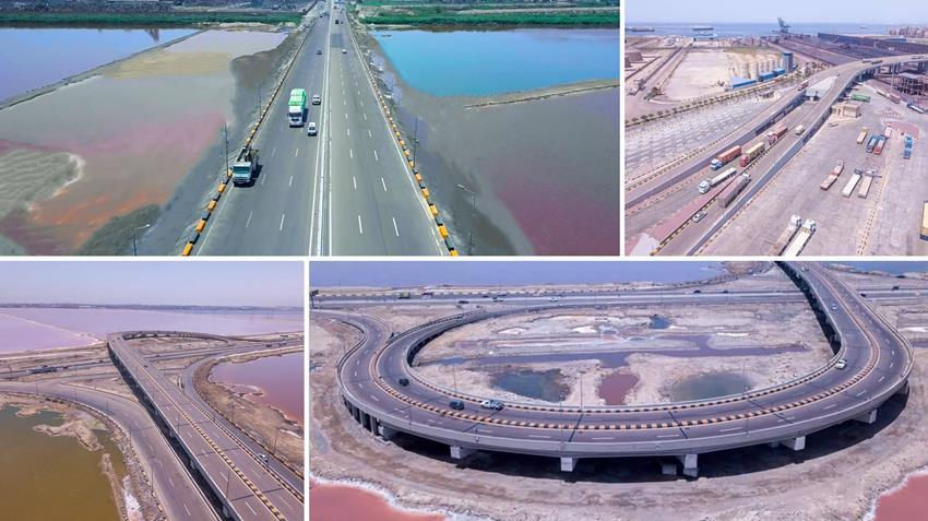 إنشاء وصلة ميناء الدخيلة بمحافظة الإسكندرية