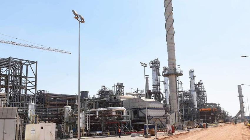 المرحلة الأولي من تطوير محطة معالجة كلابشة المركزية بالصحراء الغربية