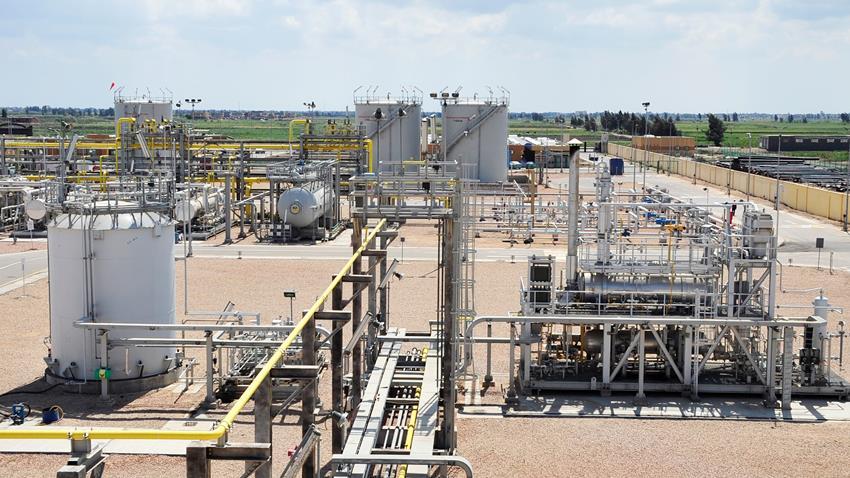 تنمية حقول الغاز بمنطقة دسوق