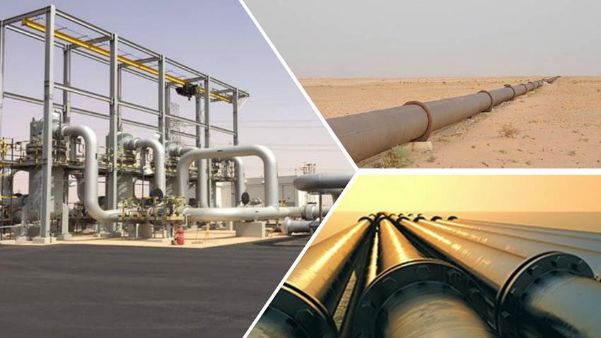 إنشاء خط تغذية محطة كهرباء غرب القاهرة