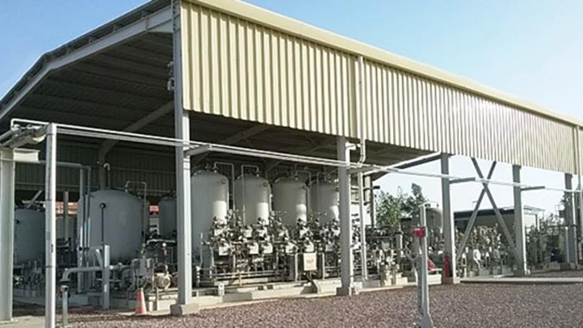 """منطقة """" بدر 3 """" لإنتاج الغاز والبترول """