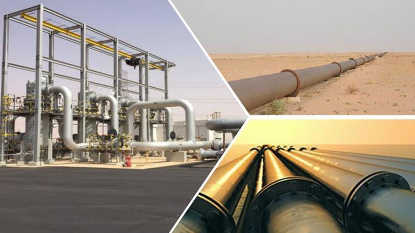 إمداد المحافظات بخطوط المنتجات البترولية
