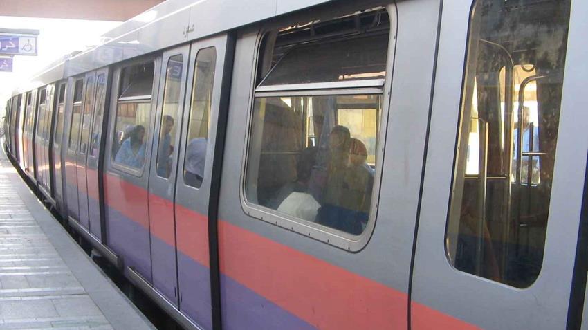 تشغيل 4 قطارات كهربائية للخط الثاني مترو الأنفاق