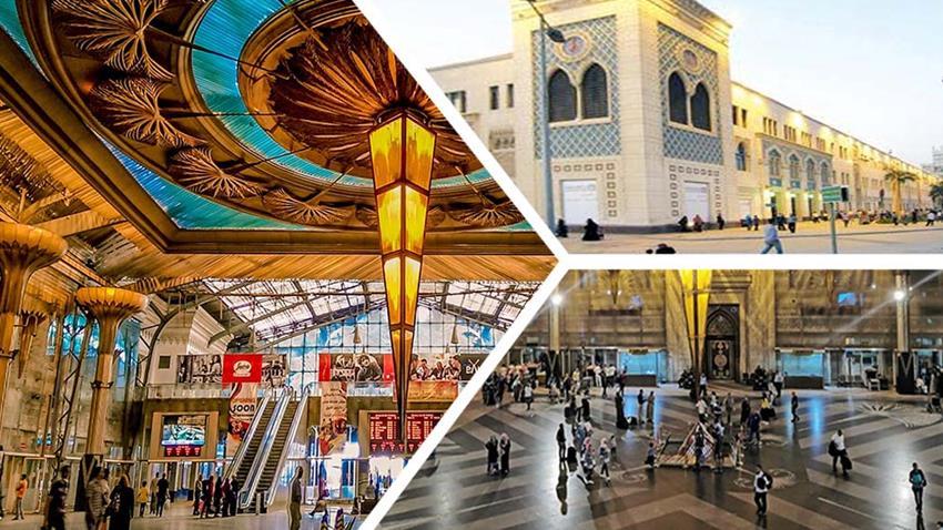 تطوير محطة سكك  حديد القاهرة ( رمسيس )